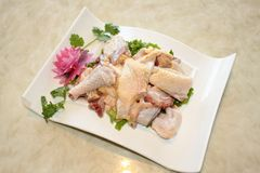 Hot pot dishes chicken. 66Chinese food Stock Image