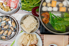 Hot  pot Stock Photo