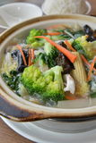 Hot pot mixed vegetable Royalty Free Stock Images
