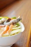 Hot pot of Thai style stock photos