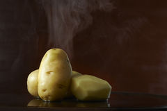 Hot potato Stock Photography