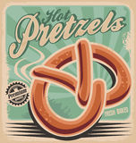 Hot pretzels Royalty Free Stock Image