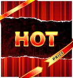 Hot price Royalty Free Stock Photos