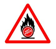 Hot price. Vector illustration - Hot price sign Stock Photo