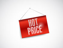Hot price fabric textured hanging banner Stock Images