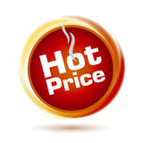 Hot Price Icon Stock Photos