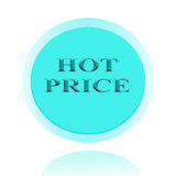 HOT Price icon or symbol image concept design with business for Royalty Free Stock Image