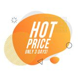 Sale icon. daily discounts. royalty free illustration
