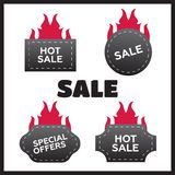 Hot price and sale Royalty Free Stock Photos