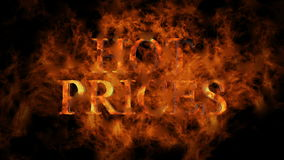 Hot prices - flames stock footage