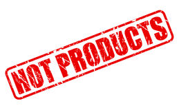 Hot products red stamp text Stock Photography