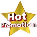 Hot promotion Stock Photo