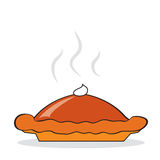 Hot pumpkin pie Royalty Free Stock Photo