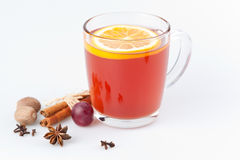 Hot punch drink Stock Photos