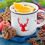 Hot punch for winter Royalty Free Stock Images