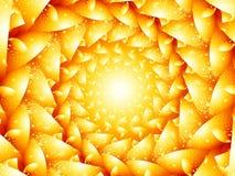 Hot röra sig i spiral arkivfoton