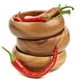Hot red chili Stock Photos