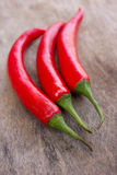 Hot red chili or chilli peppers Royalty Free Stock Photos