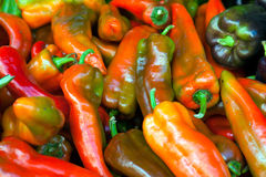 Hot Red Chillies Royalty Free Stock Photo
