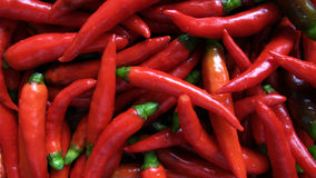 Hot red chillies Royalty Free Stock Images