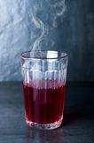 Hot red drink royalty free stock photos