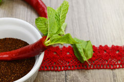 Hot red pepper Royalty Free Stock Images