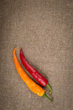 Hot red pepper Stock Photography