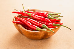 Hot red peppers Stock Photos
