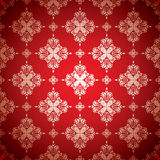 Hot red wallpaper silver Royalty Free Stock Image