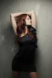 Hot redhead girl Royalty Free Stock Images