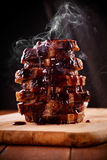 Hot Roasted Pork Stock Photos
