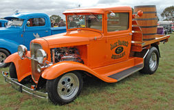 Hot Rod. Hot rods on display at the Geelong, in Victoria, Australia, Part of the Hot Rod Show, held annually Stock Image