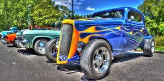 Hot rod americano de Chevy Coupe dos anos 30 do vintage foto de stock royalty free