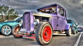 Hot rod americano de Ford dos anos 30 do vintage Imagem de Stock Royalty Free