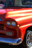 Hot Rod Art Details. Classic car show, American muscle cars and close ups of the detailed art work Stock Images