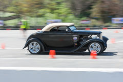 Hot Rod in autocross Royalty Free Stock Photography