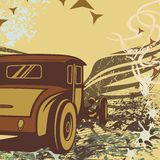 Hot Rod Car Background Stock Images