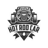 Hot Rod car logo, HotRod vector emblem, Vector Hot Rod car logo. Template of Hot Rod car logo, HotRod vector emblem, Vector Hot Rod car logo design, hotrod