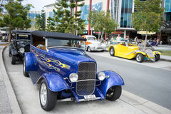 Hot rod car show Royalty Free Stock Photo