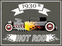 Hot rod car Royalty Free Stock Photo