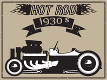 Hot rod car Royalty Free Stock Photography