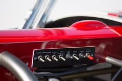 Hot Rod, detail of the control panel Royalty Free Stock Image