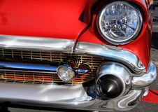 Hot Rod Detail:  Front Royalty Free Stock Images