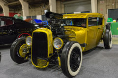 Hot Rod on display Royalty Free Stock Images