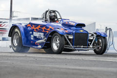 Hot rod drag car Royalty Free Stock Photo