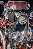 Hot Rod Engine Stock Photo