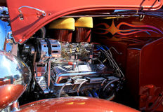Hot Rod Engine Stock Photography