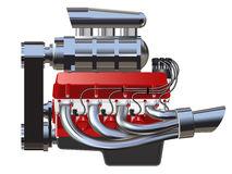 Hot Rod Engine Stock Images