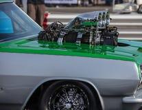 Hot Rod Engine Stock Image