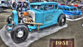 Hot rod fait sur commande de Ford Model A des années 1930 Photographie stock